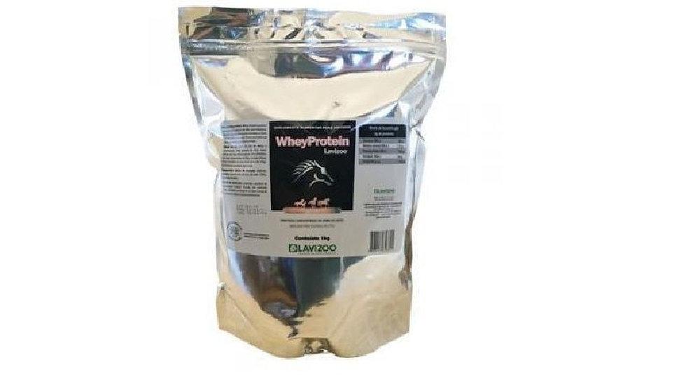 Whey Protein para Equinos 1kg Lavizoo - Suplemento para Cavalo