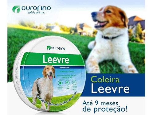 Coleira Antipulgas Cães Leevre 63 cm - Ouro Fino