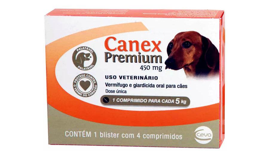 Vermífugo Cães Canex Premium 5kg - Ceva