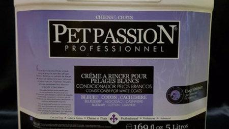 Condicionador Pet Pêlos Brancos Blanc 5L - Pet Passion