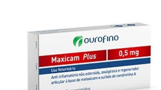 Anti-inflamatório Pet Maxicam Plus 0,5mg - Ouro Fino