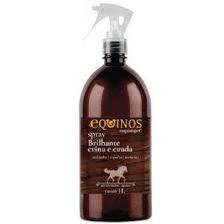 Spray Brilhante Crina e Cauda Equinos 1L- Empório Pet