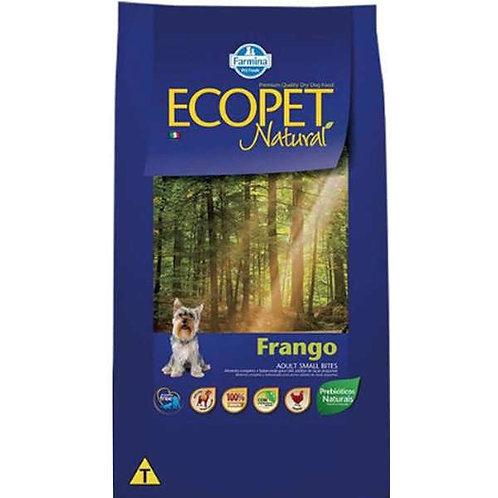 Ração Ecopet Natural Cães Adultos Small Bites sabor Frango 1kg
