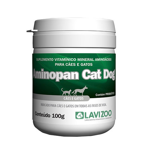 Lavizoo Aminopan Cat Dog 100gr - Suplemento