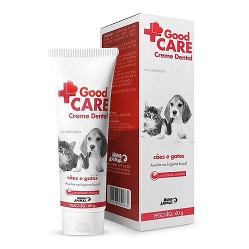 Creme Dental 60gr Cães e Gatos - Good Care