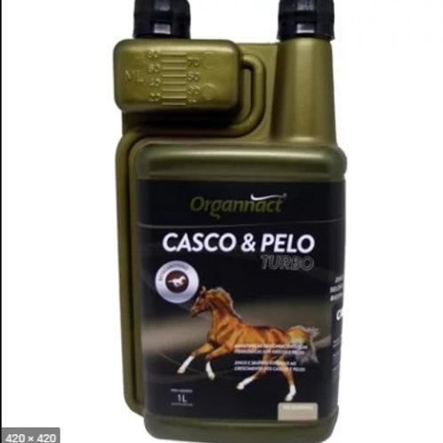 Suplemento Equinos Casco e Pelo Turbo 1L - Organnact