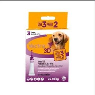 Combo Antipulgas Vectra 3D Cães de 25kg a 40kg -Ceva