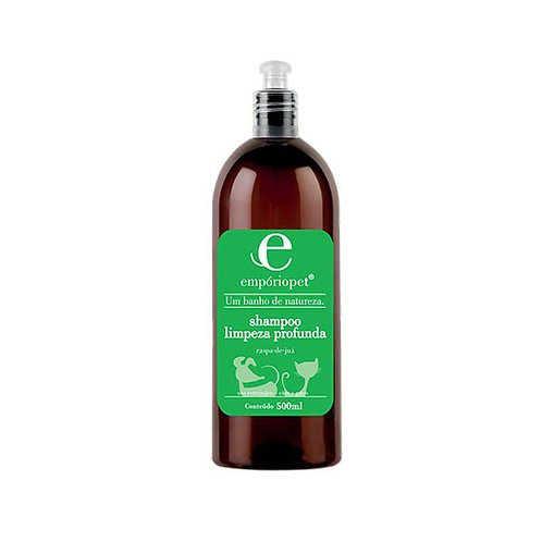 Empório Pet Shampoo Limpeza Profunda 500ml