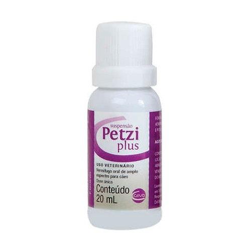 Vermífugo Cães Petzi Plus Suspensão 20ml - Ceva