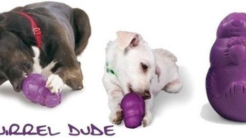 Brinquedo Interativo porta Petisco para Cães tam. M Squirrel Dude - Busy Buddy