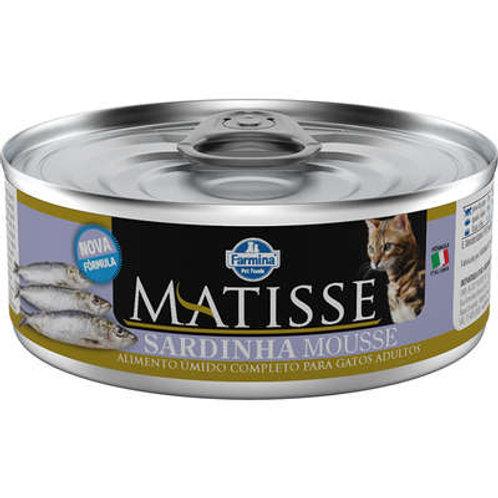 Alimento Úmido Matisse Mousse Cat sabor Sardinha 85gr