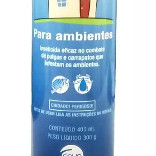 Antipulgas e Carrapatos para Ambiente My Pet Aerosol 400ml - Ceva