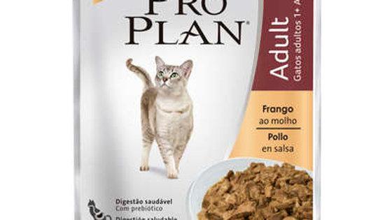 Alimento Úmido Gatos Adultos sachê Frango ao Molho 85gr - Proplan