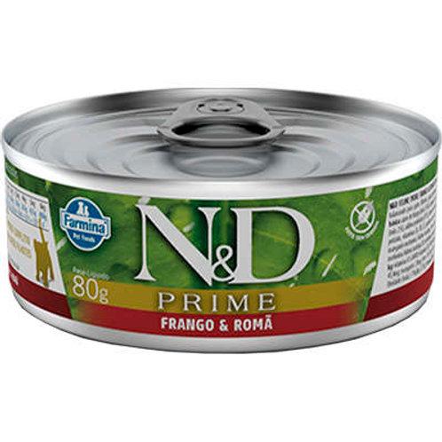 Alimento Úmido Gatos Kitten ND Prime sabor Frango 80gr