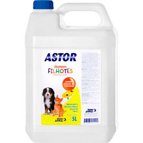 Shampoo Filhotes 5L Cães e Gatos - Astor
