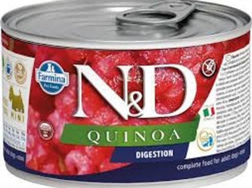 Alimento Úmido Cães ND Quinoa Digestion 140gr