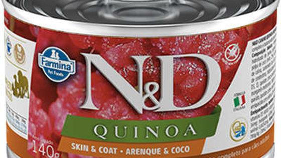 Alimento Úmido Cães Quinoa Arenque 140gr - ND