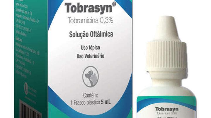 Colírio para Pet Tobrasyn 5ml - Syntec