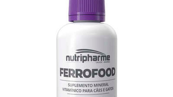 Suplemento Alimentar Pet Ferrofood Suspensão 15ml - Nutripharme