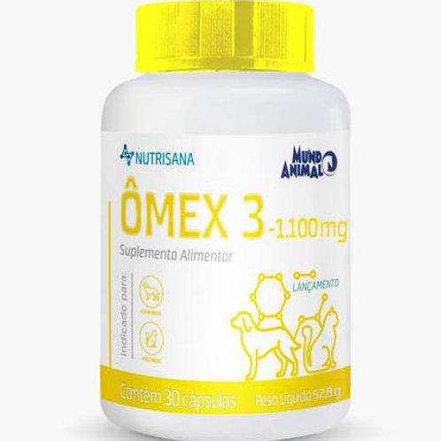 Suplemento Vitamínico Pet Omex 3 1100mg 30 comprimidos - Nutrisana
