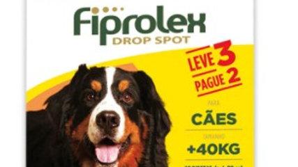 Antipulgas Fiprolex 4,02ml Combo  Cães mais de 40kg - Ceva
