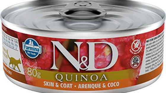 Alimento Úmido Gatos Quinoa Arenque 80gr - ND