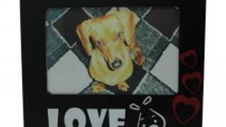 Porta Retrato moldura Love Pet tam. 10cm x 15cm  - Puppets