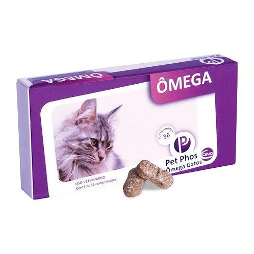 Suplemento Vitamínico Pet Phos Ômega Gatos 36 comprimidos - Ceva