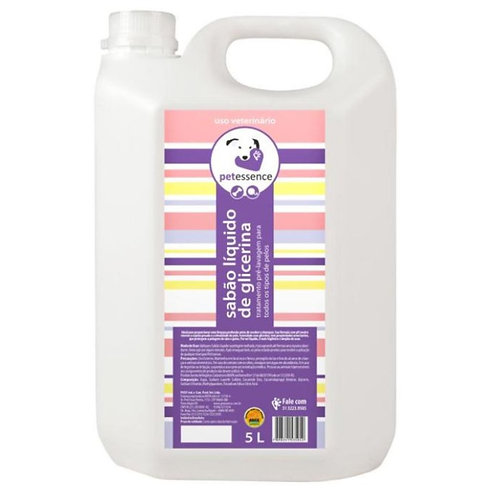 Sabão Glicerina 5L - Pet Essence