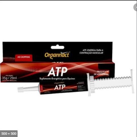 Display com 12 unidades Suplemento Equinos ATP Gel 35gr - Organnact