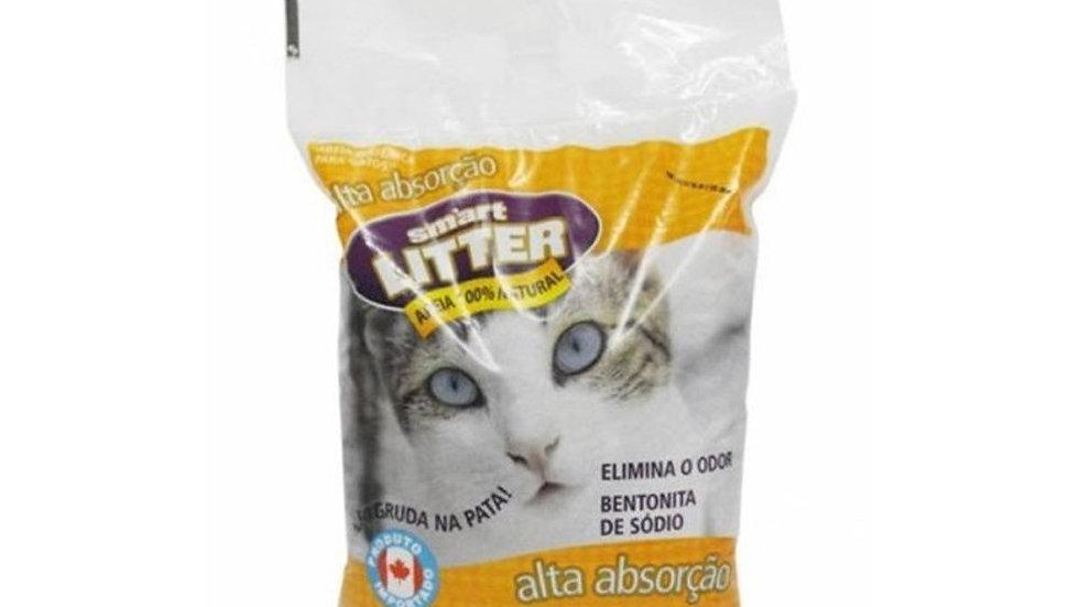 Areia Higiênica Gatos Smart Litter 4kg - Syntec