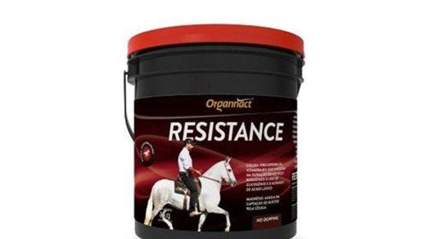 Suplemento para Equinos Resistence 1kg - Organnact