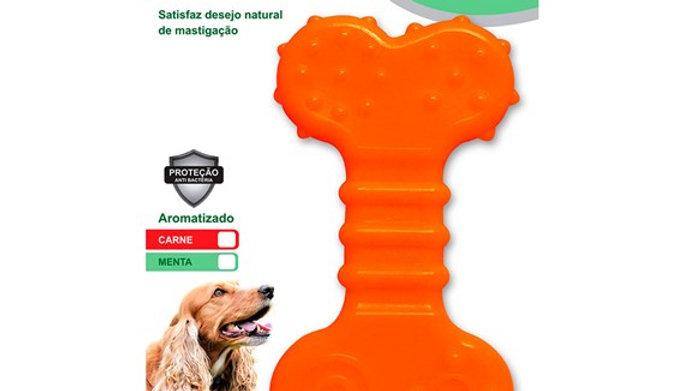 Brinquedo FlexiBone Flat Cães até 15kg - Odontopet