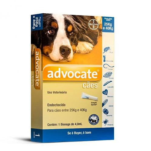 Antipulgas Advocate para Cães entre 25 e 40Kg 4,0ml - Bayer
