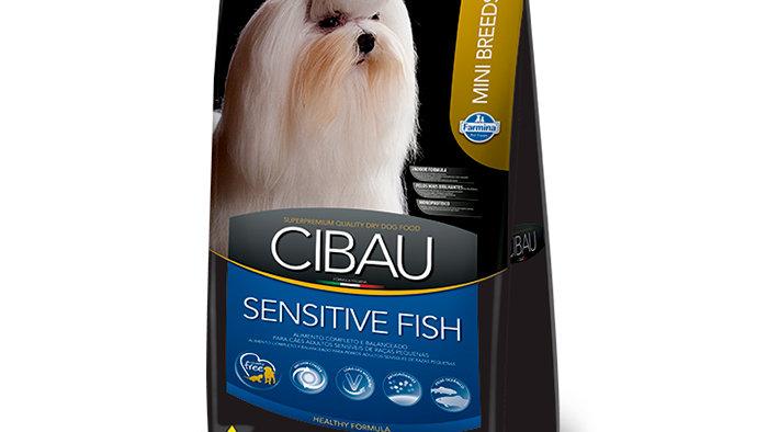 Ração Cães Raças Pequenas Mini Adult Sensitive Fish 1kg - Cibau