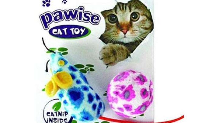 Brinquedo conjunto Rato e Bola - Pawise