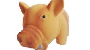 Brinquedo Cães Porco com som na cor Amarelo Queimado - Puppets