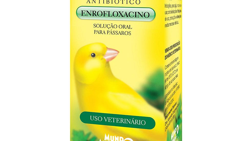 Antibiótico para Pássaros 10ml - Piusana