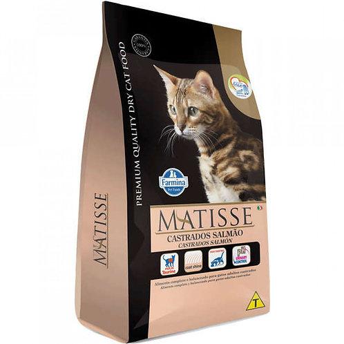 Ração Matisse Gatos Castrados Adultos sabor Salmão 2kg