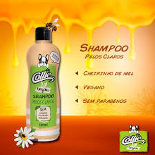 Shampoo Vegan Pelos Claros 500ml - Collie