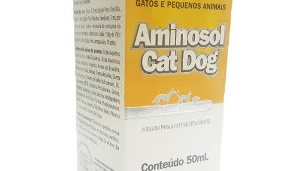 Aminosol Cat Dog 50ml Lavizoo - Suplemento para Cães, Gatos e Roedores