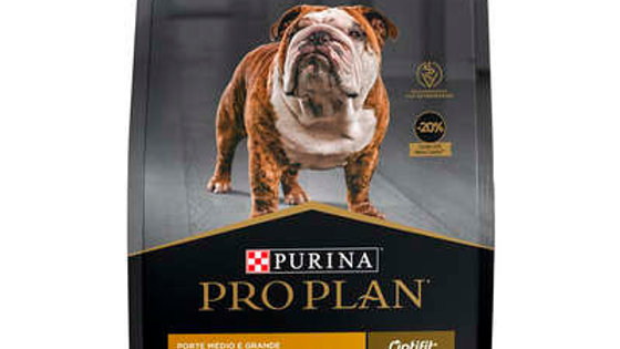 Ração Cães Adultos Raças Médias e Grandes Reduced Calories 15kg - Proplan