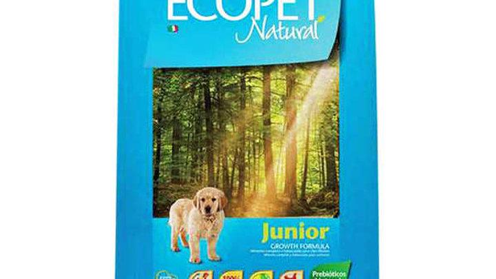 Ração Cães Filhotes de Raças Médias e Grandes 20kg - Ecopet Natural