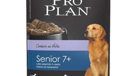 Alimento Úmido Cães Adultos +7 sabor Cordeiro 100gr Purina - Proplan