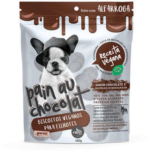 Biscoitos Pain Au Chocolat Vegano Hipoalergênico 120gr -The French Co