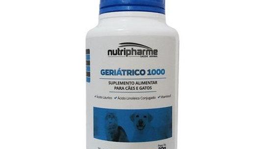 Suplemento Alimentar Pet Geriátrico 1000 com 30 capsulas - Nutripharme