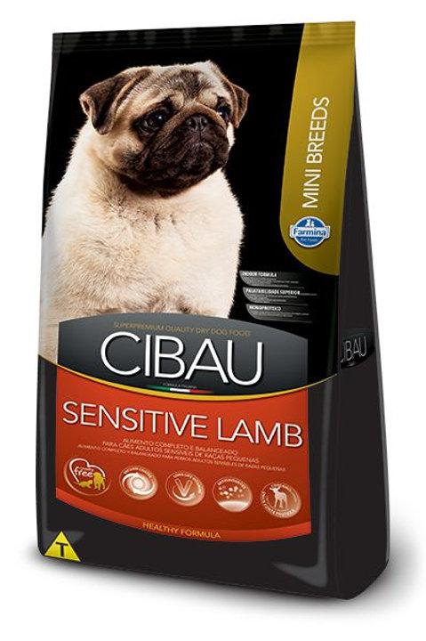 Ração Cibau Cães Adult Mini Sensitive Lamb 3kg