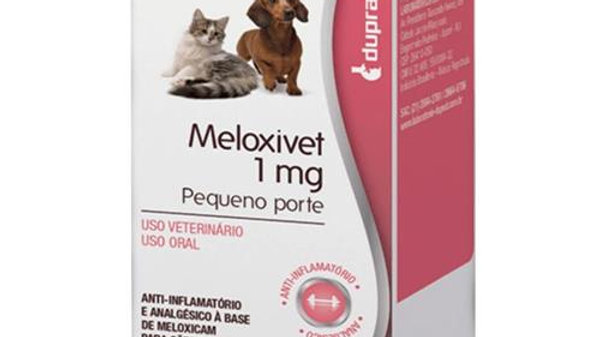 Anti - inflamátório Pet Meloxivet 1mg - Duprat