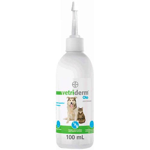 Limpeza de Orelha para Cães e Gatos Vetriderm Oto 100ml - Bayer