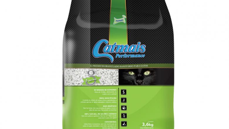 Granulado Sanitário Performance Gatos 3,6kg - Catmais